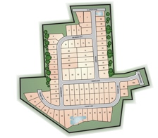 Villages at Berkley Square Site Plan